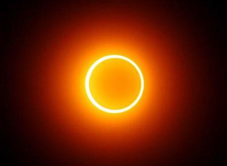 "Gerhana Matahari ""Ring of Fire"" 29 April 2014"