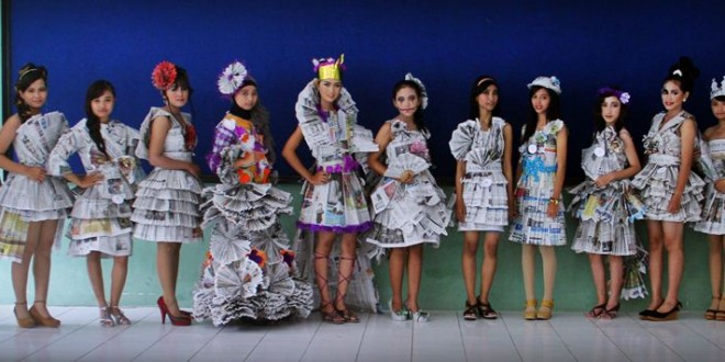 Foto: Recycled Fashion Show