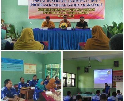 Pembukaan Kegiatan In Service Training (IN-1) Program Keahlian Ganda TKJ di SMKN 5 Madiun