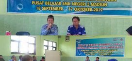 Pembukaan Kegiatan In Service Training (IN-2) Program Keahlian Ganda TKJ di SMKN 5 Madiun
