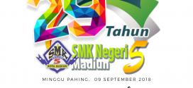 29th Anniversary SMKN 5 Madiun