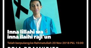 Selamat Jalan Pria Pramudito