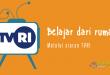 Siswa Bisa Belajar dari Rumah lewat TVRI